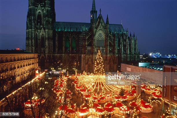 Christmas fair in Cologne, Germany