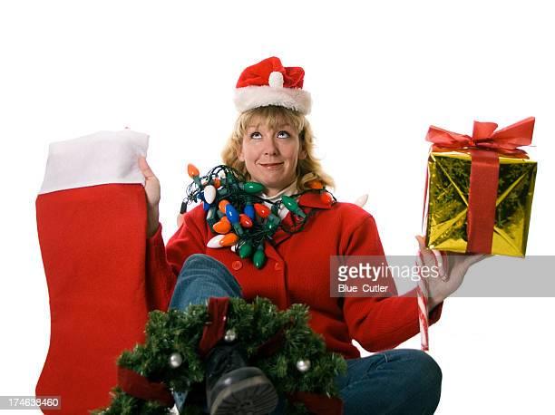 Christmas Family on White Series