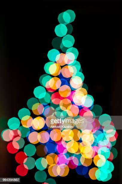 Christmas fir-tree abstract