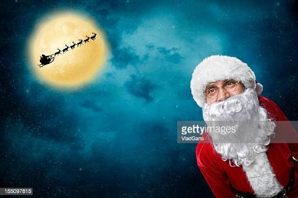Weihnachten-Flug