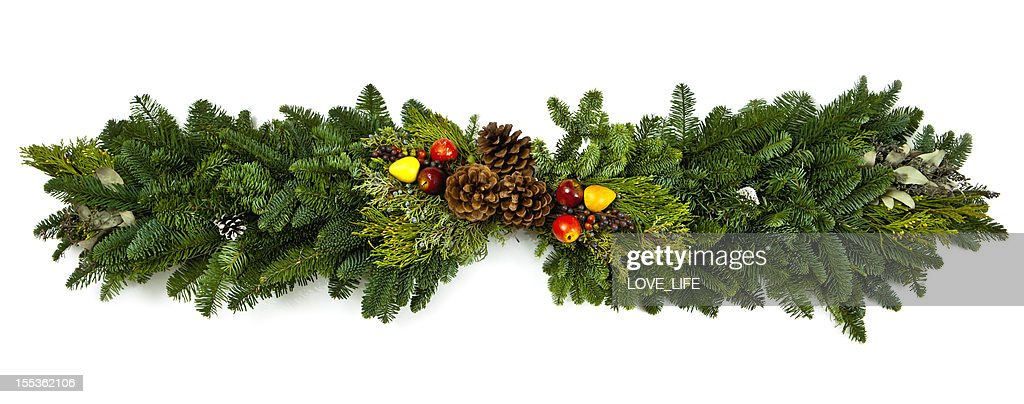 Christmas Garland : Stock Photo