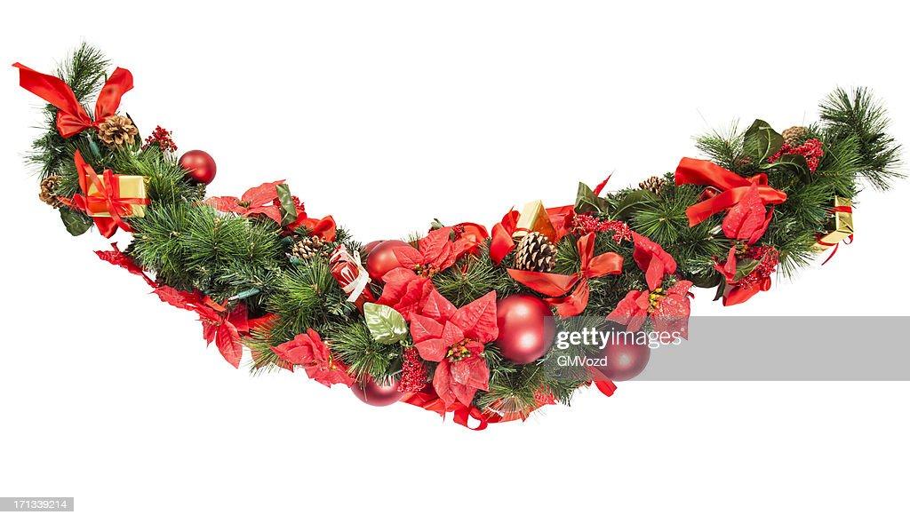 Guirlanda de Natal : Foto de stock