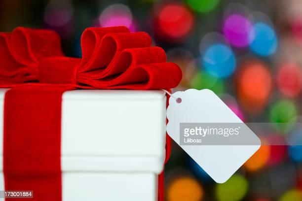 Christmas Gift on Defocused Lights (XXL)