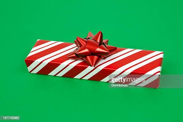 Christmas Gift on Green