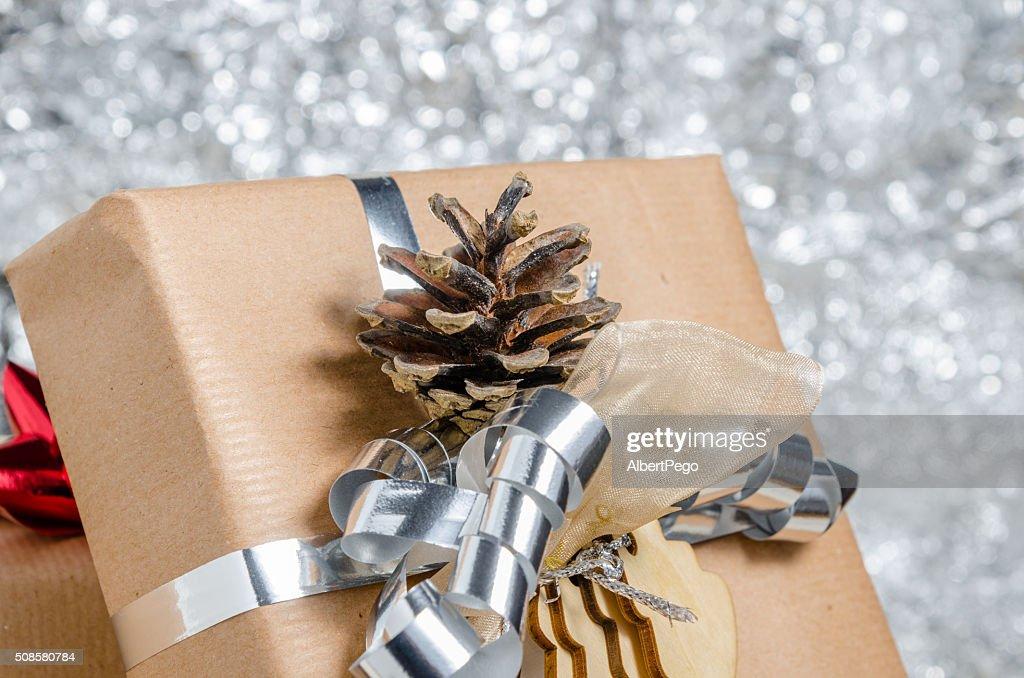 Weihnachts-Geschenk : Stock-Foto