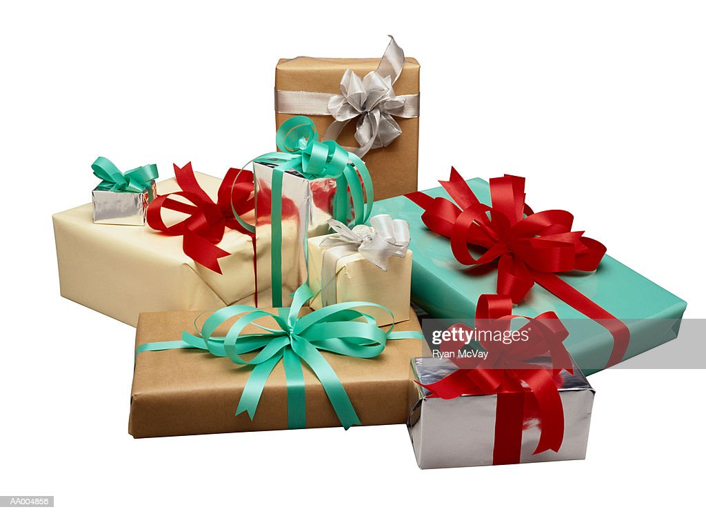 Christmas gift stock photo getty images christmas gift stock photo negle Images