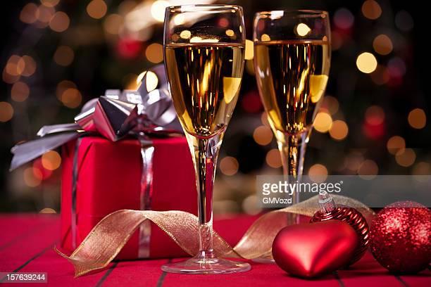 クリスマスプレゼント、ワイン