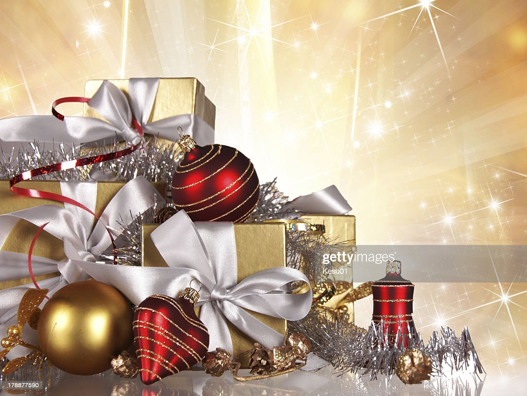 Christmas Gifts Stock Photo | Getty Images