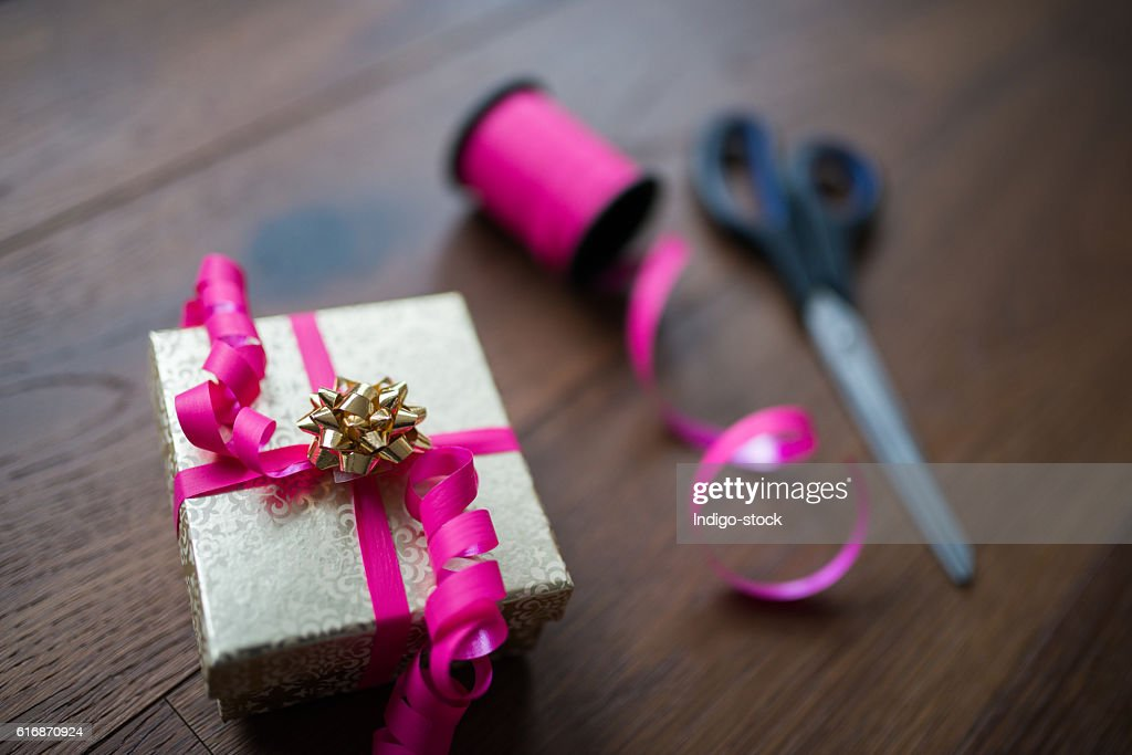 Christmas gifts : Stock Photo