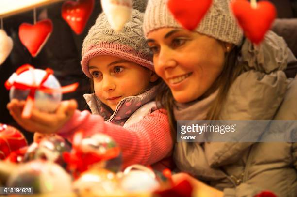 christmas gifts - heart month stock photos and pictures