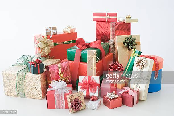 christmas gifts - christmas gifts stock photos and pictures