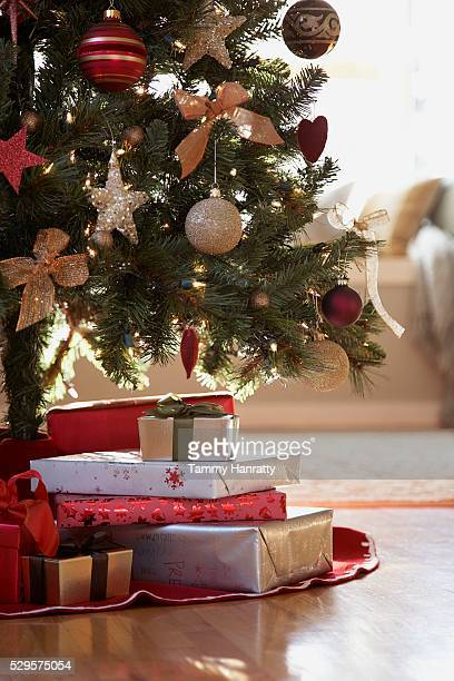 Christmas Gifts Under the Christmas Tree