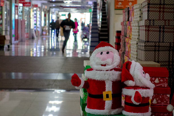 A Christmas gifts wholesale shop in Yiwu commodity market. Pictures ...