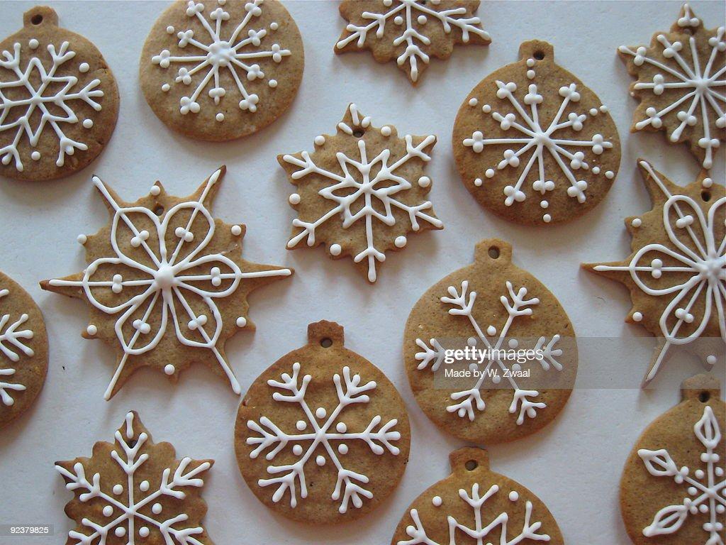 Christmas Gingerbread Cookies : Stock Photo