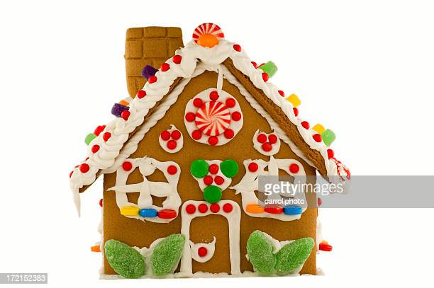 Christmas Gingerbread House - Isolated