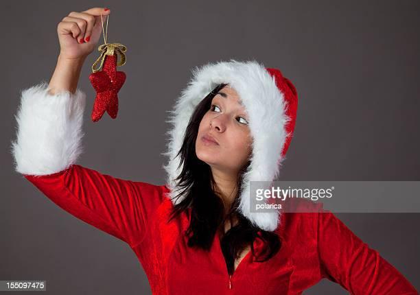 Chica de Navidad