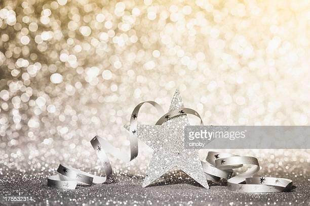 クリスマスの輝く星