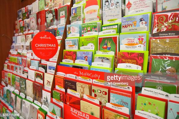 Walgreens Christmas Card.Christmas Greeting Cards For Sale In Walgreens News Photo