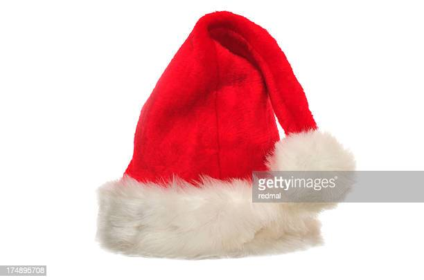 christmas hat - knit hat stock pictures, royalty-free photos & images
