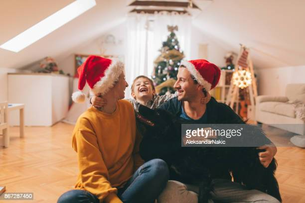 Christmas holidays with family