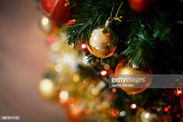 christmas home decor - christmas decoration stock pictures, royalty-free photos & images