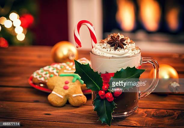クリスマスホットチョコレート