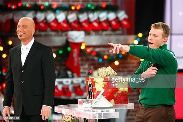 "Christmas"" Hour 2 Episode 17 -- Aired -- Pictured: Host Howie Mandel, Contestant Matt Zedwick"