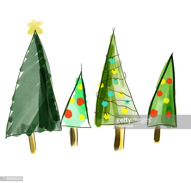 christmas illustration drawings - illustration stock pictures, royalty-free photos & images