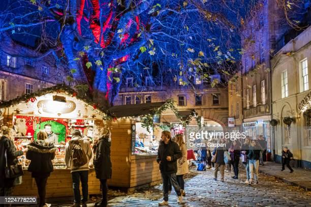 アビーグリーンのクリスマス、バース(イギリス、イギリス) - 英イングランド バース ストックフォトと画像