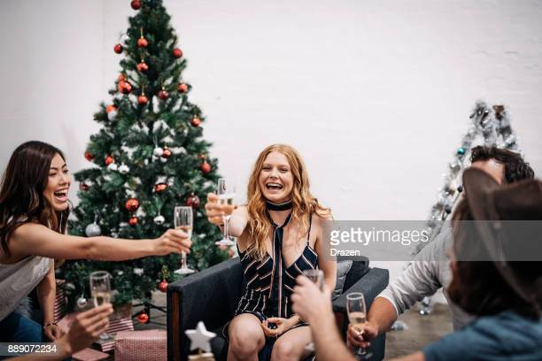 Christmas in Australia - toast for friends and family