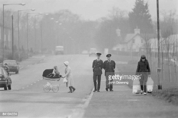 Christmas in Belfast December 1984