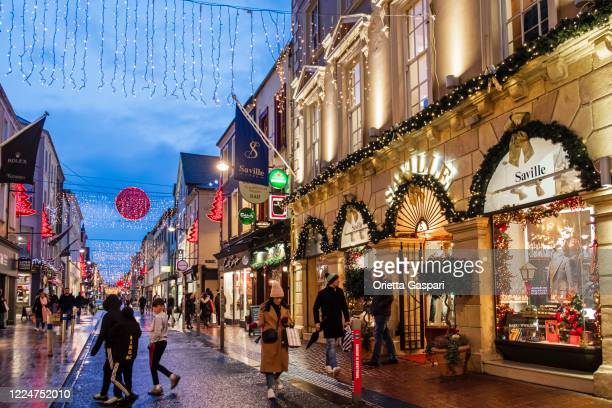 christmas in cork, ireland - cork city stock pictures, royalty-free photos & images