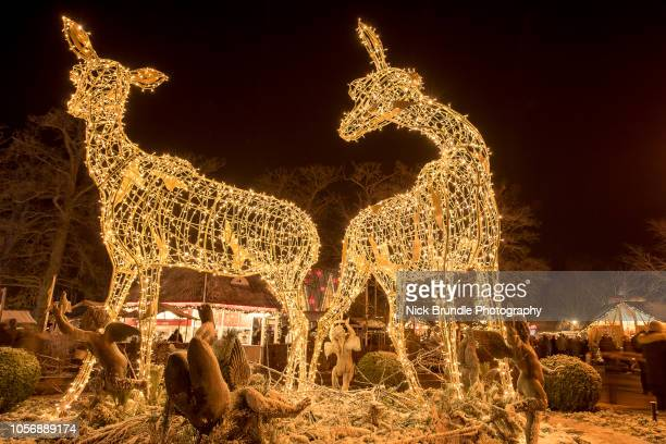 christmas in denmark - garland decoration stock pictures, royalty-free photos & images