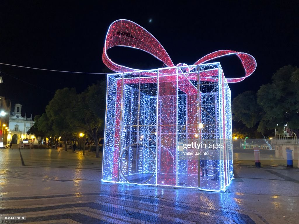 Christmas in Faro, Portugal : Stock Photo