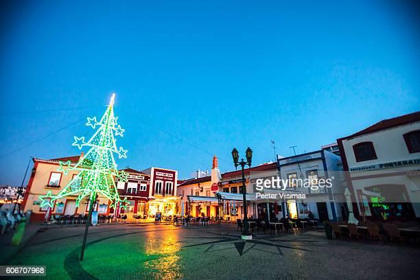 Christmas in Ferragudo, Algarve, Portugal.