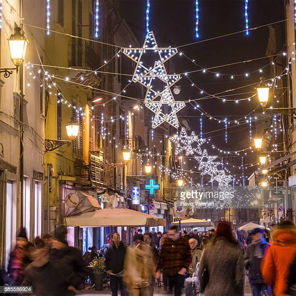 Christmas in Ferrara, Old Town - Italy