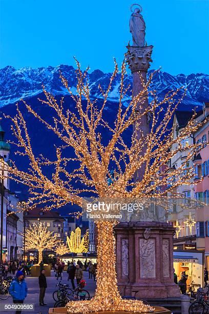 Weihnachten in Innsbruck, Österreich
