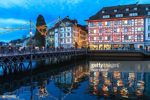 Weihnachten in Luzern, Schweiz