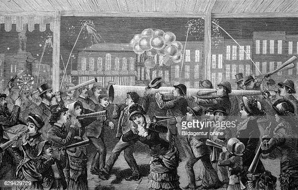 Christmas in new orleans usa historical image 1886