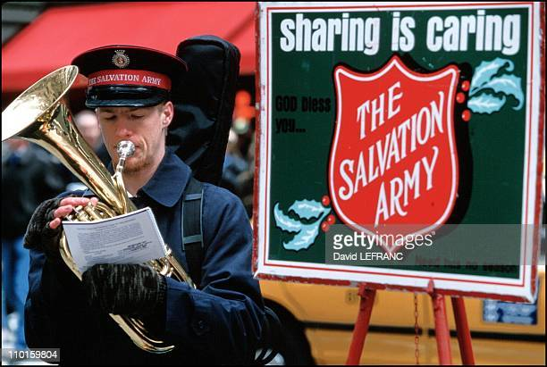 Christmas in New York United States on December 02 2000 The Salvation Army