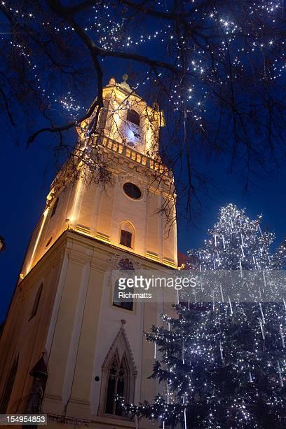 Weihnachten in der Altstadt von Bratislava