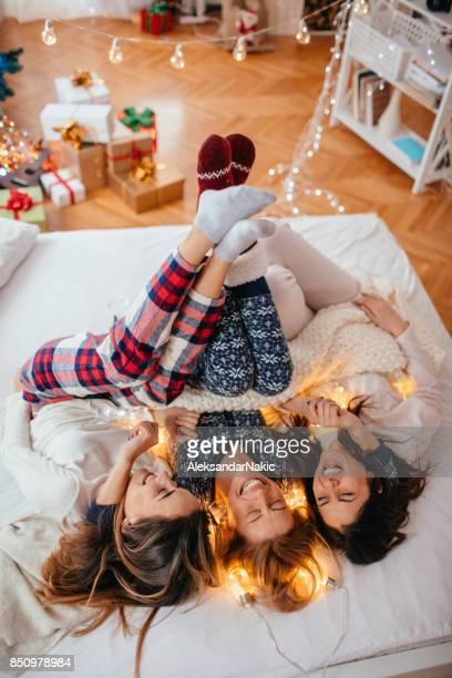 Kerstmis in pyjama