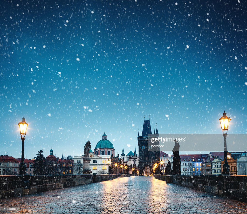 Christmas In Prague : Stock Photo