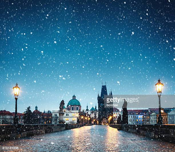 christmas in prague - town stock pictures, royalty-free photos & images