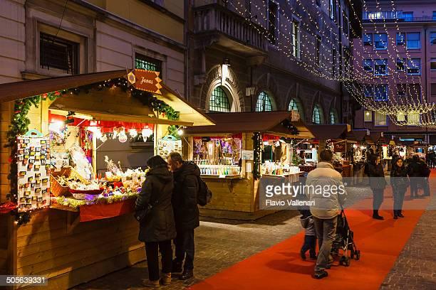 Weihnachten in Rovereto, Italien