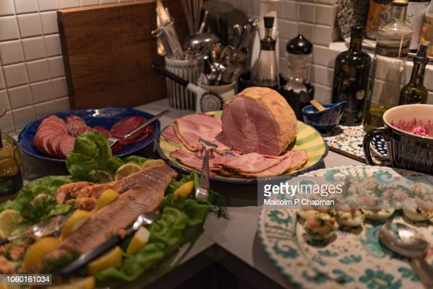 Christmas in Sweden - Swedish Christmas ham, Julskinka and other dishes