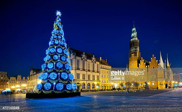 Christmas in the center of Wroclaw