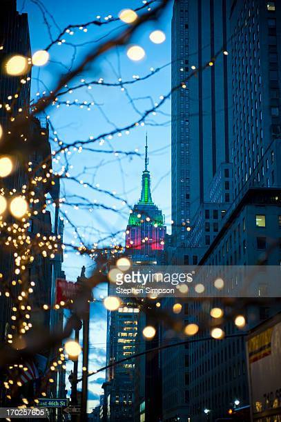Christmas in the city, Empire State Building