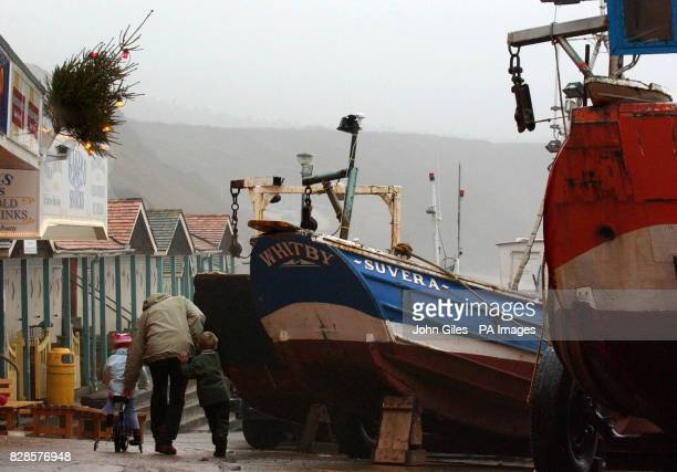 Christmas in the fishing communities of the United Kingdom is looking bleak after being hit by an EU agreement to impose drastic cuts in cod quotas *...
