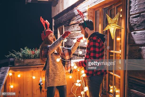 Weihnachten in den Bergen house.